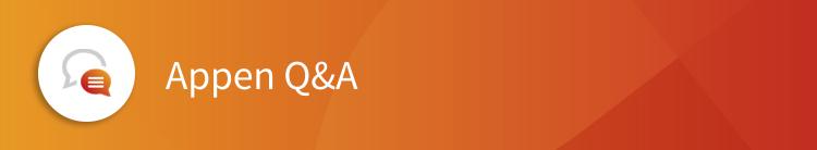 Appen Q&A | Appen Blog